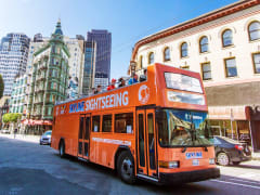 USA_San Francisco_Hop On Hop Off Bus