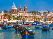 Malta_Marsaxlokk_Luzzu_Boats_Harbor