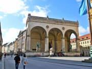 Germany, Munich, Odeonsplatz, Feldherrnhalle