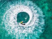 Jet ski adventure in Bali