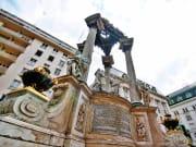Austria, Vienna, Hoher Market, Wedding Fountain