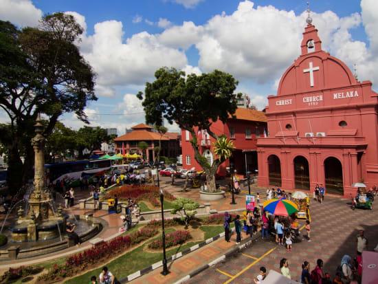 Malaysia Melaka Christ Church Dutch Square