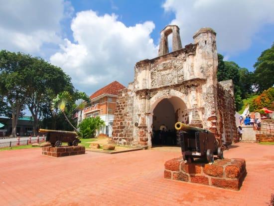 Malaysia Melaka Malacca A Famosa Fort