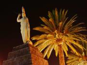 Mexico_Teotihuacan_Cuahetumoc Statue