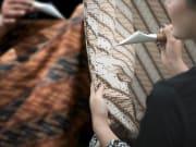 Expert artisans producing Batik products