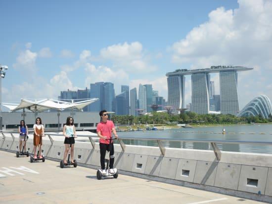 singapore mini segway tour marina bay sands