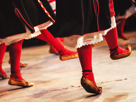 folk show footwork shoes