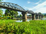 Thailand Kanchanaburi River Kwai Bridge