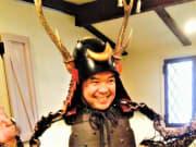 プランの魅力2-5甲冑(かつちゅう)体験 (2)