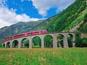 Italy,Switzerland, Bernina Express