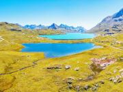 Switzerland, Lej Pitschen, Lej Nair, White Lake