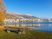 Switzerland, St. Moritz Lakeside
