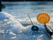 Ice fishing tour at Lyngen Alps
