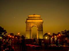 India_Delhi_India Gate Night