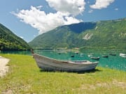 Italy, Lake of Santa Croce