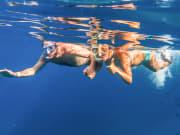 PWFCouple Snorkelers