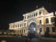 夜の郵便局