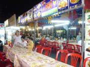 夜のベンタン市場