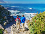Hermanus_Couple Looking at Ocean