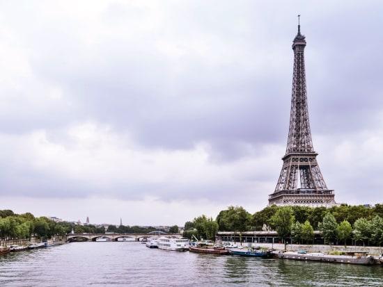 Paris, Eiffel Tower, Seine River