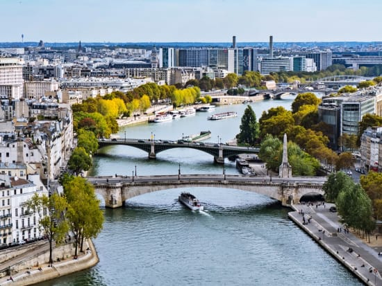 Paris, Eiffel Tower, Seine River, France