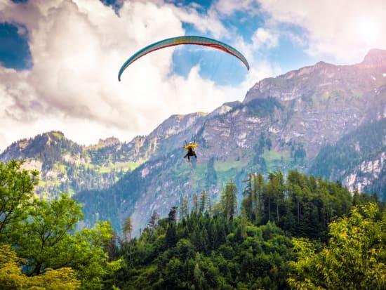 Switzerland_Interlaken_Tandem Paragliding
