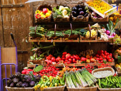italy, florence, fresh vegetables, market