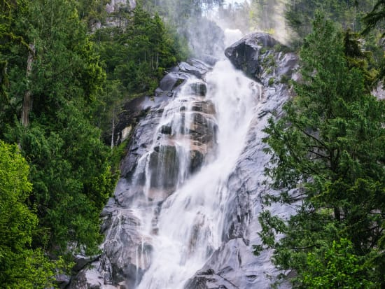 Canada_British Columbia_Shannon Falls