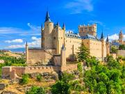 Spain, Segovia, Alcazar Castle