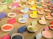 Taiwan Tainan Salt Museum colorful salt
