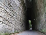 燈篭坂大師切り通しトンネルpixta
