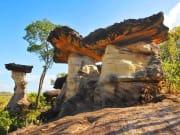 Sao Chaliang Pha Taem National Park Thailand