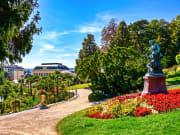 Austria, Vienna, Baden, Casino Baden, Parks