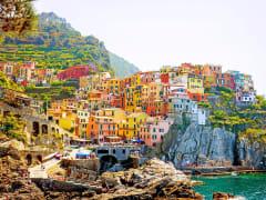 Italy, Cruise, Cinque Terre
