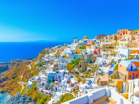 サントリーニ島/ミコノス島宿泊 (ギリシャ宿泊(周遊)ツアー ...
