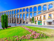 segovia from madrid, roman aqueduct