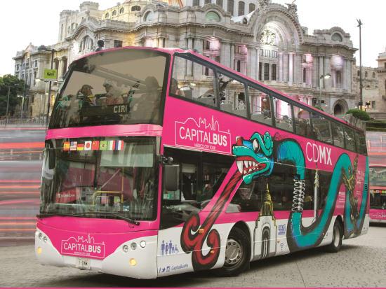 Mexico_Double Decker Bus_Tour