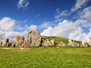 West Kennet Long Barrow, Avebury Neolithic complex, Wiltshire, England