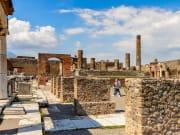 Italy, Naples, Ruins of Pompeii