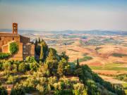 montalcino, tuscany countryside