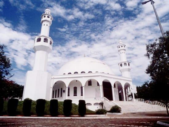 The beautiful Muslim Mosque