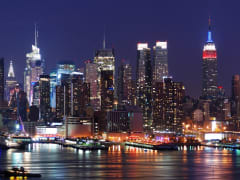 USA_New York_Evening Skyline_shutterstock_58682365