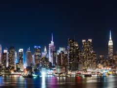 USA_New_York_Night_Skyline_from_Hamilton_Park_shutterstock_626041283