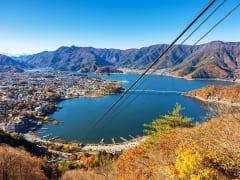 Japan_Fuji_Yamanashi_Kawaguchiko Lake_Kachikachi_Panorama_Ropeway_shutterstock_277102379
