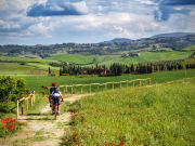 tuscany, countryside, bike, tour