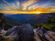 Australia new south wales blue mountains