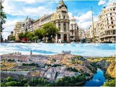 Madrid and Toledo