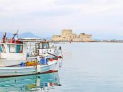 Greece, Argolis, Boat