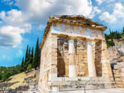 Greece, Delphi, Athenian Treasury