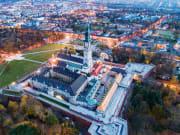 Czestochowa, Jasna Gora Monastery, Aerial View